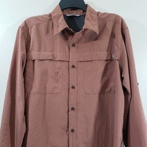 WRANGLER LONG ROLL SLEEVES SHIRT OUTDOOR SIZE M